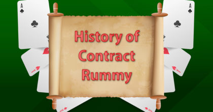 History of Contract Rummy