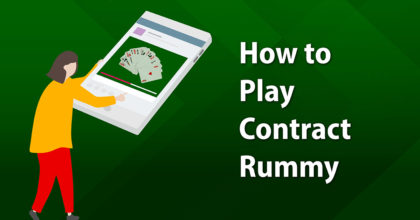 how to play contract rummy