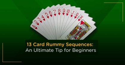 rummy card sequence
