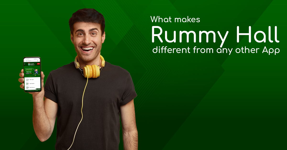 What makes Rummy Hall different from any other App | RummyHall