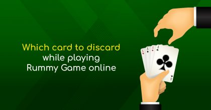 Playing Rummy Game Online
